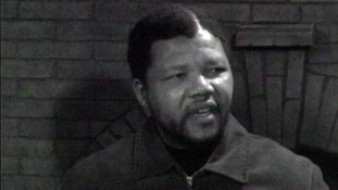 Nelson Mandela's first ever TV interview in 1961