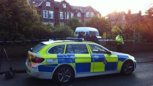 James Leslie is accused of shooting PC Suzanne Hudson in Cardigan Road, Leeds.