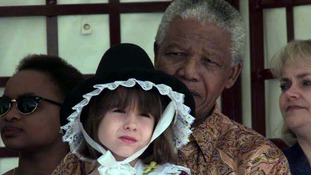 Meeting Mandela: Memories of a young girl who met leader in Cardiff in 1998