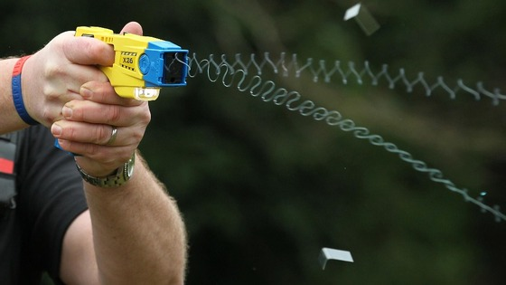 Police Tasered the boy on school grounds.