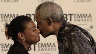 Key moments London has shared with Nelson Mandela