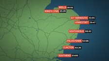 Tidal surges flood UK: Latest information on high tides