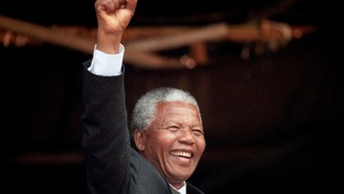 Tributes are paid for Nelson Mandela