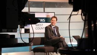 Nick Clegg visits Bristol