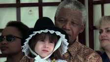 Memories of young girl who met Mandela in Cardiff