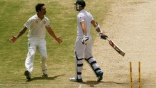England left floundering by Johnson in second Ashes Test