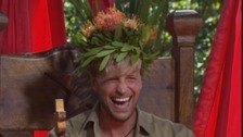 Westlife's Kian Egan is crowned king of the jungle