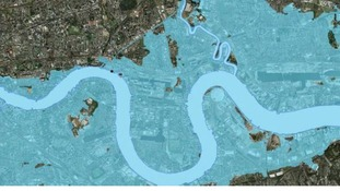 Flooded London