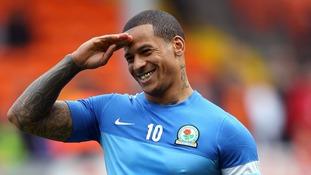 Blackburn Rovers forward DJ Campbell