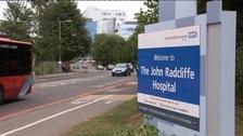 John Radcliffe Hospital sign