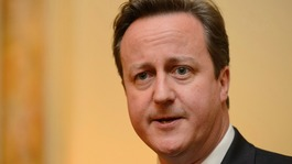 Cameron views tidal surge damage