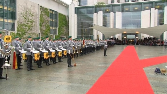 President Hollande is due in Berlin