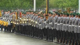 President Hollande is due in Berlin