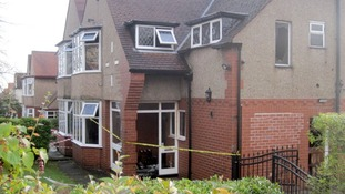 The property was cordoned off as forensic crime scene officers conducted examinations.