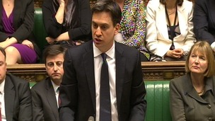 The timing of Mr Miliband's announcement has raised a few eyebrows.