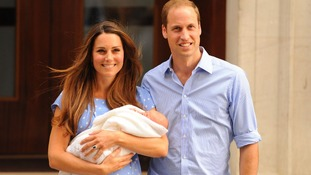 The fourth most talked about thing on Facebook this year was the birth of Prince George.