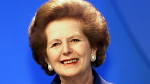The death of Margaret Thatcher was a popular topic on Facebook this year.