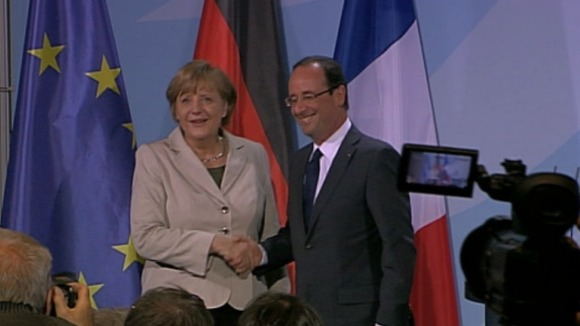 Chancellor Merkel and President Hollande
