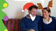 Nick Clegg's children design official Christmas card