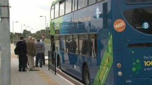 "A report by the Campaign for Better Transport charity says that cuts to bus services are reaching ""critical levels""."