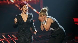 Sam Bailey (right) is through to this weekend's X Factor final