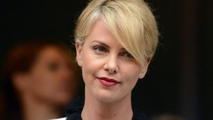 Charlize Theron during Nelson Mandela National Memorial Service.