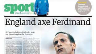 Euro 2012: Former England centre back Rio Ferdinand has suffered with a string of injuries in the past few seasons
