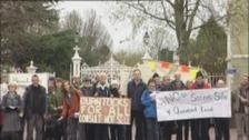 Quantocks protesters