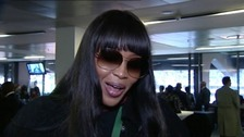 Naomi Campbell: 'I will treasure Mandela in my heart'