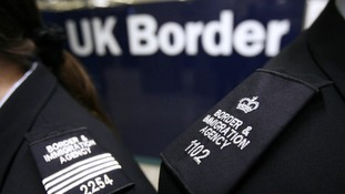 Border control affected by the wind