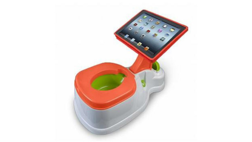 Toys For Potty Training : Ipad potty training seat named worst toy of year itv news