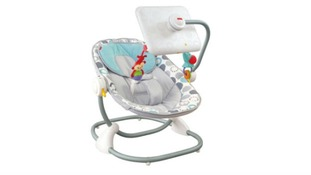 Fisher-Price's iPad Apptivity Seat, Newborn-to-Toddler.