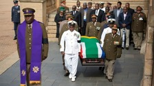 South Africans pay last respects to Nelson Mandela