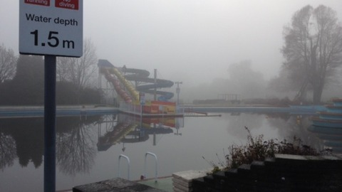 High cost of running lido could force its closure itv news for Aldershot swimming pool burlington