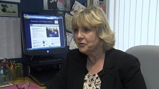 Julie Branch, Headteacher at Holywell Primary School.