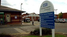 General view of the Leicester General Hospital.