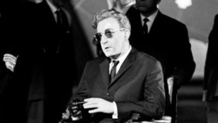 Peter Sellers stars as Dr. Strangelove.