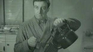 Peter Sellers in 'Dearth of a Salesman'.