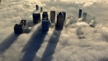 How London looked from above the foggy streets