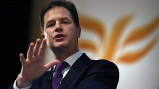 Nick Clegg will visit Norwich this afternoon.