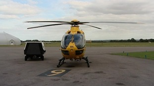 The East Anglian Air Ambulance.