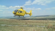 North West Air Ambulance helicopter grounded