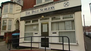 The Dale Surgery, where inspectors found maggots