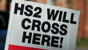A number of protests have taken place in the Midlands against the building of HS2