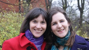Ruth Harris (left) and Eleanor Plumstead are the first same-sex couple to book a wedding in Nottinghamshire
