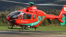 One Wales air ambulance still grounded for safety checks