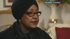 Winnie Mandela speaks exclusively with ITV News.