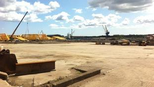 Swan Hunter shipyard