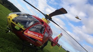 One of the Midlands Air Ambulance helicopters has been cleared for normal service