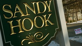 One year anniversary of Sandy Hook massacre
